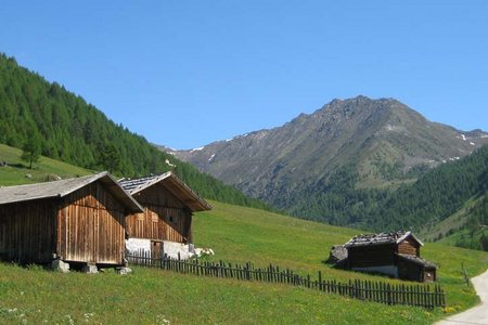 Großberghütte (1644 m) durch das Altfasstal