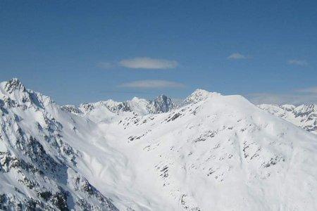 Langschneid (2688 m) aus dem Brunnalmgebiet
