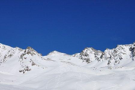 Kraspesspitze (2954 m) von Niederthai