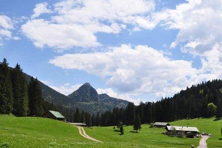 Schwarzentennalm Rundfahrt von Kreuth