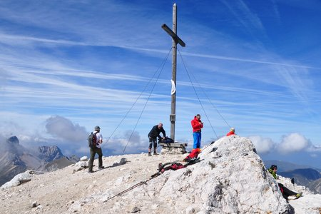 Seekofel (2810m) von der Senneshütte
