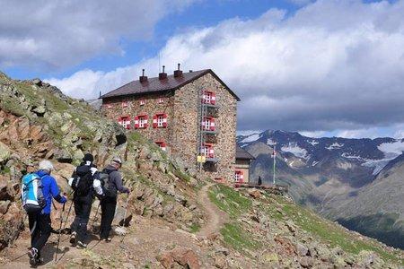 Breslauer Hütte (2844 m) über die Rofenhöfe