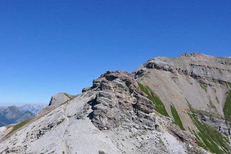 Kessselspitze (2728 m) vom Padasterjochhaus