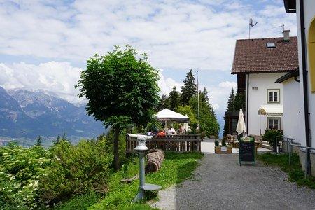 Alpengasthaus Heiligwasser von Amras über Vill-Igls