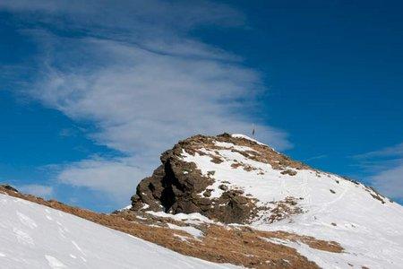 Pillerkreuz-Wannejöchl (2478/2497 m) von Piller
