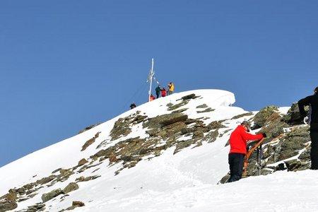 Kraspesspitze-Schartenkogel (2954/2855 m) von Kühtai