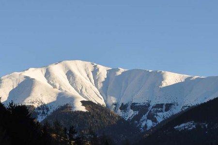 Toblacher Pfannhorn (2663 m) aus dem Silvestertal