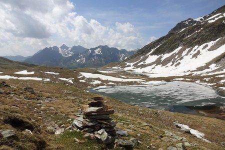 Seebergseen (2420 m) aus dem Zösenbergtal