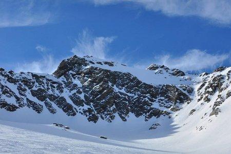 Gleirscher Fernerkogel (3189 m) von der Pforzheimer Hütte