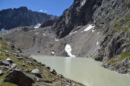 Falbesoner See (2575 m) von der Neuen Regensburger Hütte