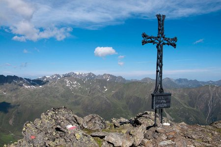 Sömen (2796 m) vom Alpengasthof Bergheim Fotsch