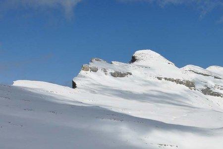 Heiligkreuzkofel (2907 m) von der Faneshütte