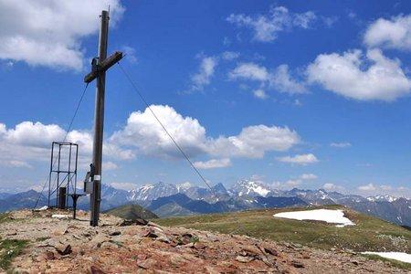 Toblacher Pfannhorn (2663 m) von Kalkstein