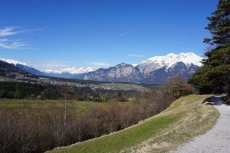 Fernkreuzweg - Gletscherblick Rundwanderung von Patsch