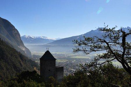 Ruine Fragenstein - Schlossbachklamm Rundwanderung