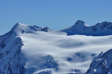 Zuckerhütl (3505 m) vom Schaufeljoch