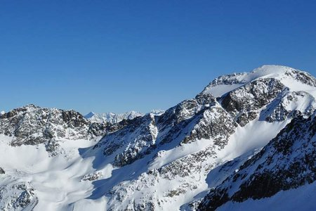Hinterer Daunkopf (3225 m) von Gries/Sulztal