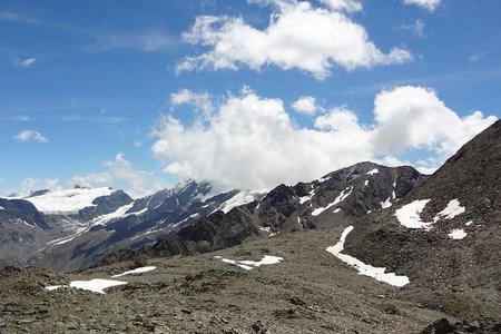 Tiergartenspitze (3068 m) von Langtaufers