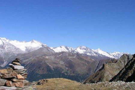 Hochgrubbachspitze (2809 m) aus dem Winnebachtal