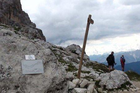 Carducci Hütte (2294 m) aus dem Fischleintal