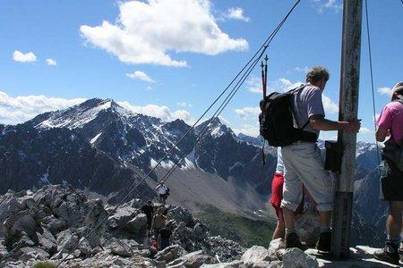 Maldongrat (2544 m) vom Hahntennjoch