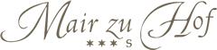 Logo Naturresidenz Mair zu Hof - Sand in Taufers