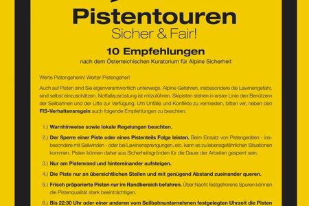 Pistentouren - 10 Empfehlungen & Abendskitouren