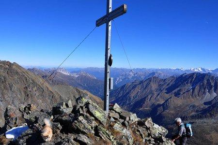 Rinnenspitze (3003 m) von der Oberiss Hütte