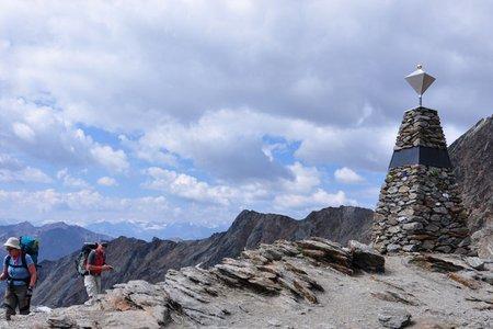 Ötzi-Fundstelle - Tisenjoch (3210 m) von Vernagt