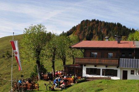 Taubenseehütte – Taubensee von Kössen