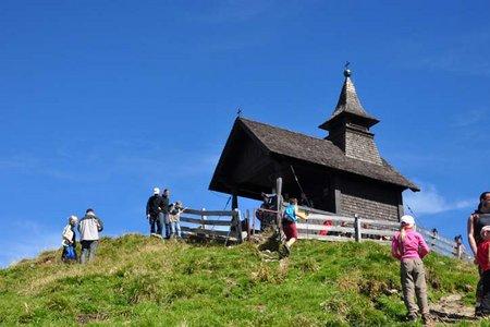 Kellerjoch (2344 m) über die Gartalm