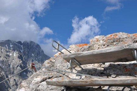 Wankspitze-Klettersteig (2.209 m) vom Gasthof Arzkasten