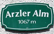 Logo Arzler Alm, 1067 m - Innsbruck