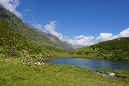 Seeber See (2068m) über die Oberglanegg Alm