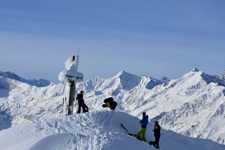 Schlotterjoch (2389 m) aus dem Ratschingstal