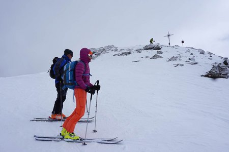 Malgrübler (2749 m) vom Gasthof Hanneburger
