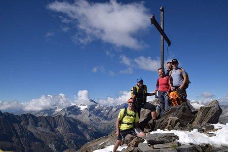 Schönbichler Horn (3134 m) vom Alpengasthof Breitlahner