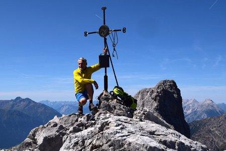 Hohe Warte (2597 m) von der Seegrube