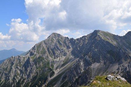 Roter Stein (2366 m) von Berwang