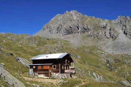 Eisseehütte (2521 m) von Bichl/Prägraten