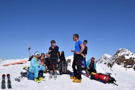 Köllkuppe (Cima Marmotta, 3330 m) von der Marteller Hütte