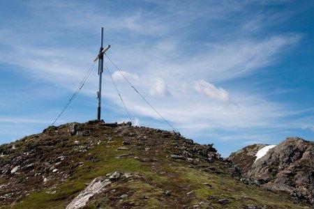 Roter Kogel (2832 m) vom Alpengasthof Bergheim Fotsch