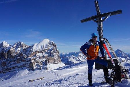 Kleiner Lagazuoi (2778m) von der Capanna Alpina