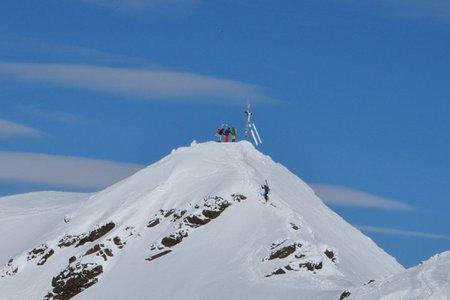 Rasass Spitze (2941 m) von der Sesvennahütte