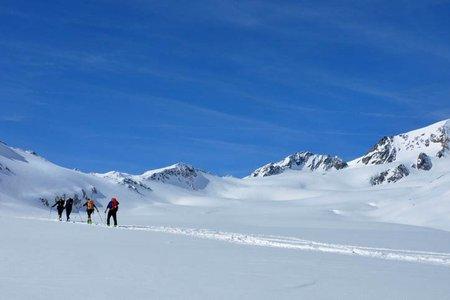 Weißkugel (3738 m) vom Hochjochhospiz