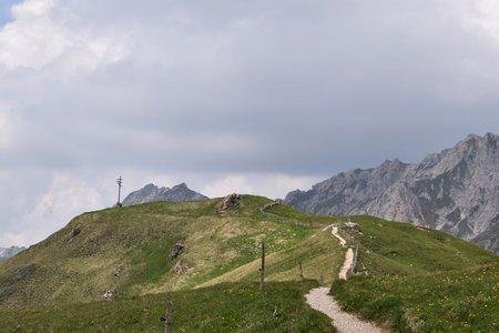 Zendleser Kofel (2422 m) aus dem Campilltal