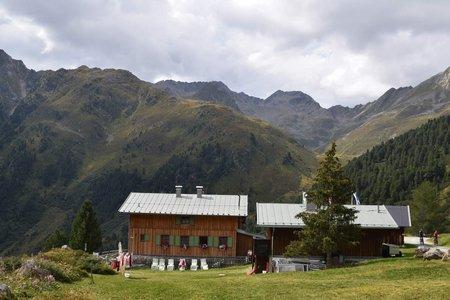 Schweinfurter Hütte (2034 m) von Niederthai