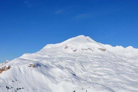Monte Sella de Sennes (2787 m) von der Senneshütte