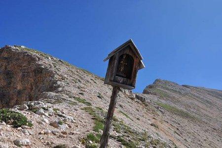 Antoniusspitze (2656 m) von der Lavarellahütte