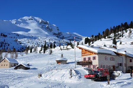 Winterwanderweg Lavarellahütte